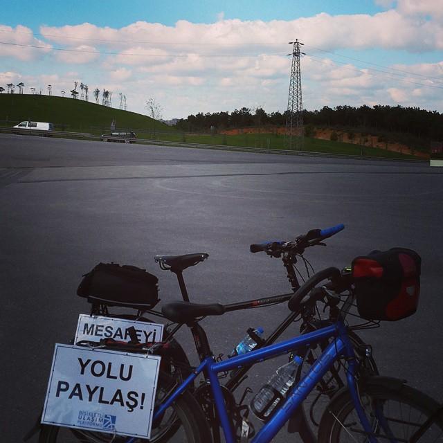 Bugün için teşekkürler @bisikletliulasim :)