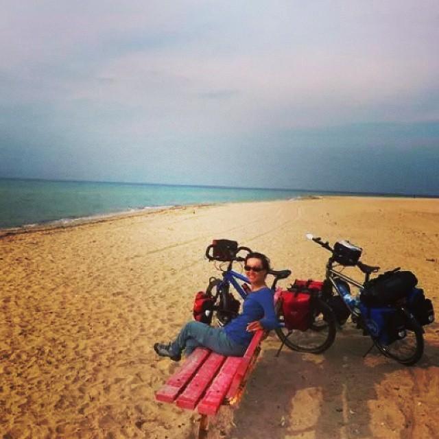#ege #aegean #cycling #cycletouring #bisiklet #bicycle #bicycletour #touring #sea #deniz :)