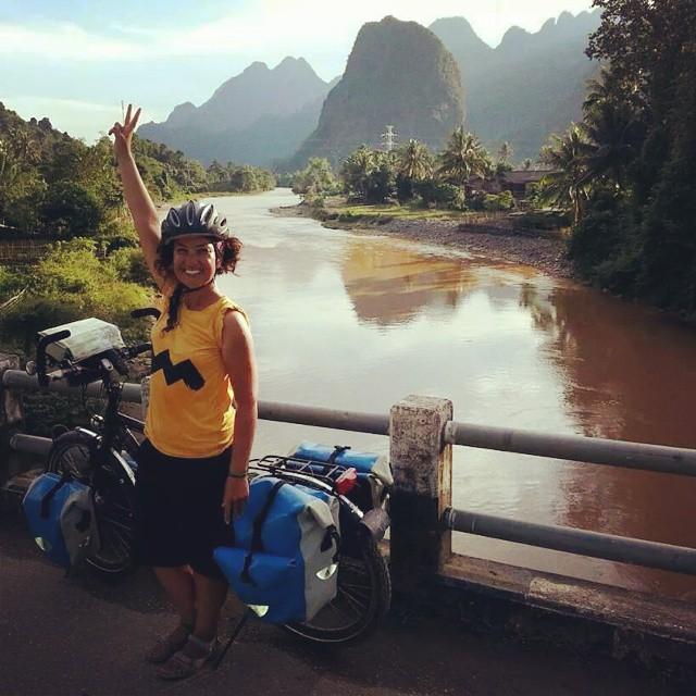 #laos :) Güneydoğu Asya (#tayland, #laos, #Kamboçya ) bisiklet turu  #cycling #cycletouring #bisiklet #bicycle #bicycletour #touring #touringbicycle #rohloff #ortlieb #yolculuk #travel #gezgin #bicicletta #podilato #velespit #traveller #explorer