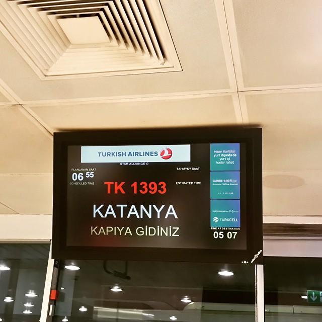 @pinarpinzuti & @ilpinz stiamo partendo, ci vediamo in due settimane in Sicilia. :) #girodisicilia