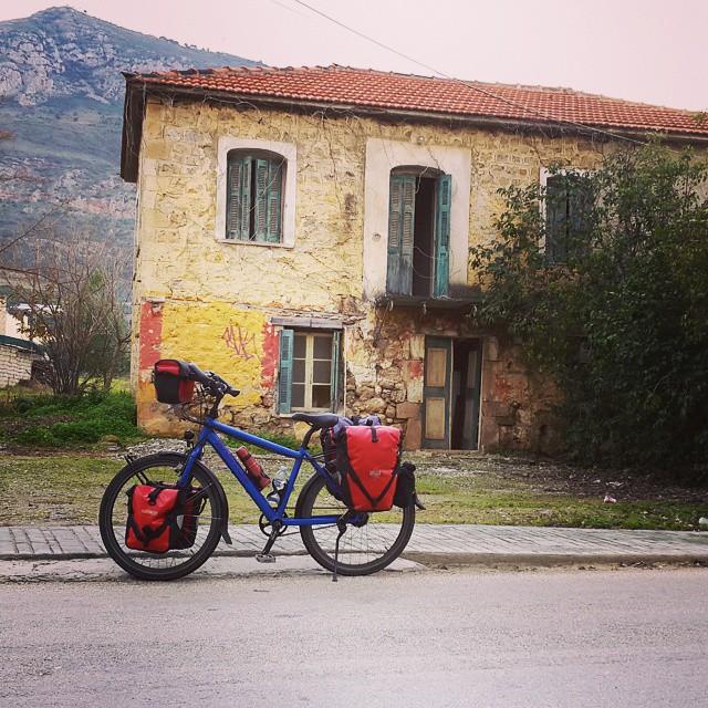#Mavi ile 10bin km'den fazla #yol yaptık #beraber. #Hollanda, #İtalya, #Kamboçya, #Laos, #Tayland, #Yunanistan ve #Türkiye ' de. Sağolsun beni hiç #yolda bırakmadı. #Dünya büyük, bizim pedallarımız küçük ama yavaş yavaş dolaşacağız. :) We cycled more then 10.000 km with Mavi ( my bicycle's name that means #blue in Turkish) in #Cambodia, #Greece, #Italy, #Laos, #Netherlands ,  #Thailand and #Turkey. She never upset me and we continue to #travel around the #world. :) #santosbikes #bisiklet #bicycle #bicicletta #fahrrad #podilato #velo #cycling