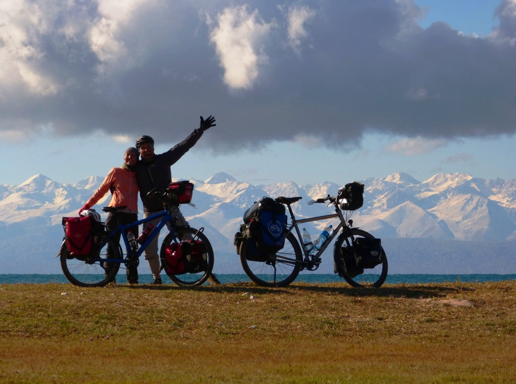Bisiklet Gezgini Kırgızistan