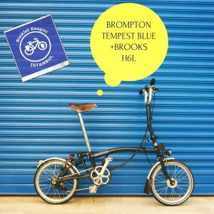 Brompton Tempest Blue Brooks H6L