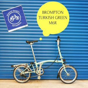 Brompton Turkish Green M6R